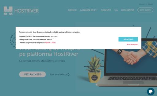 HostRiver Romania