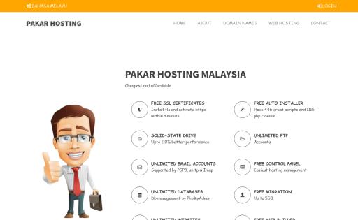 PAKAR HOSTING MALAYSIA