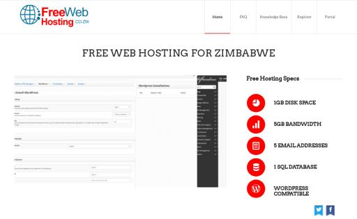 Free Web Hosting Zimbabwe