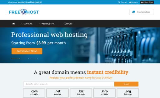 Free Dot Host