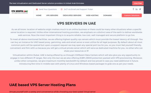 VPS SERVER UAE