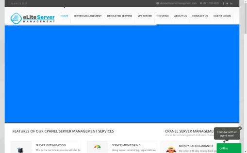 eLite Server Management