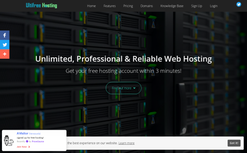 Ultifree Hosting