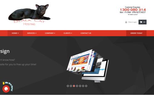Black Cat Hosting