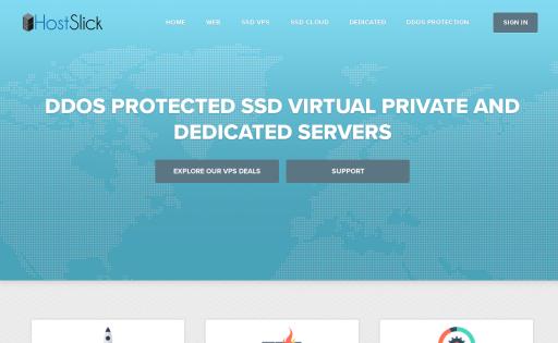 HostSlick Internet Services