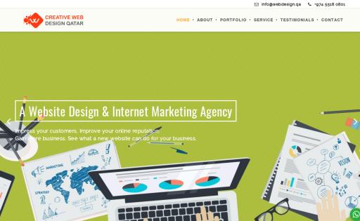 Creative Web Design Qatar