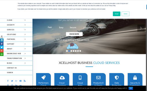 XcellHost Cloud Services