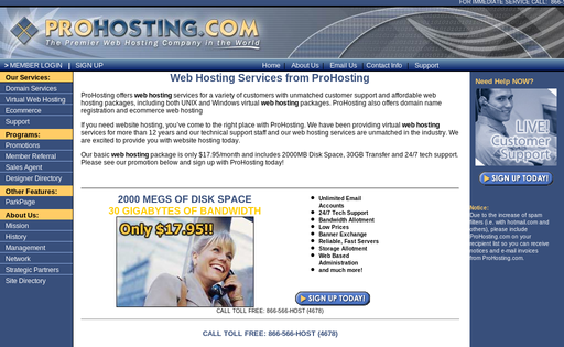 prohosting corporation