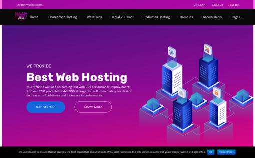We Web Hosting / WeHost