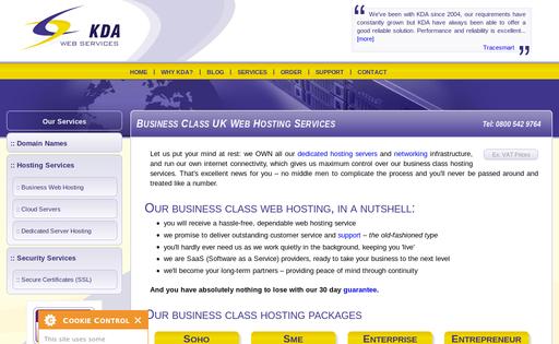 KDA Web Services