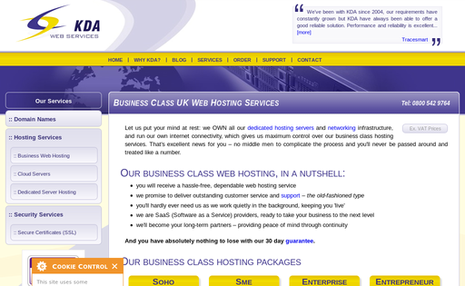 KDA Web Services