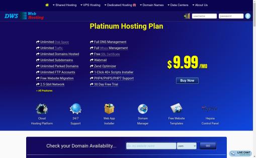 DWS Web Hosting