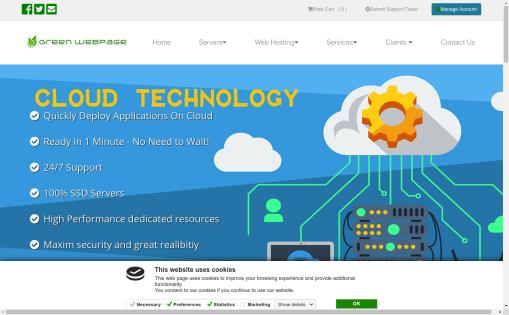 GreenwebPage