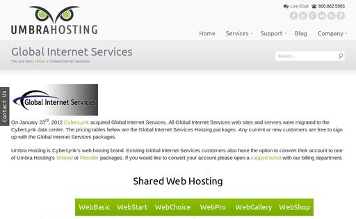 Global Internet Services