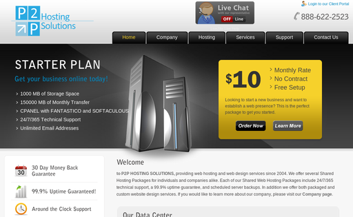 Point 2 Point Hosting Solutions