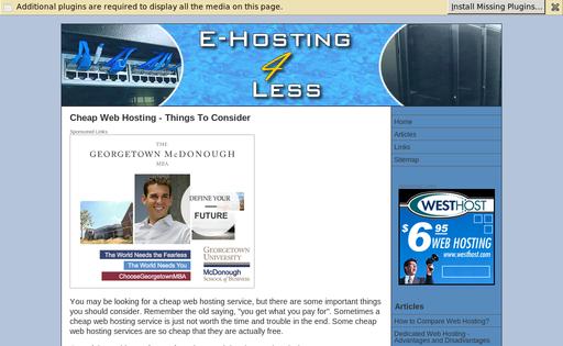 e-Hosting4less