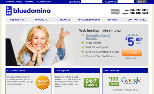 Bluedomino.com