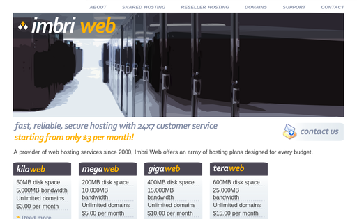 Imbri Web