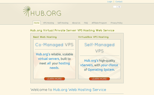 Hub.Org Networking Services