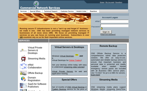 Commercial Network Services