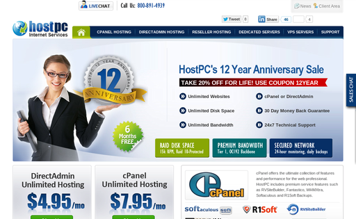 HostPC Internet Services