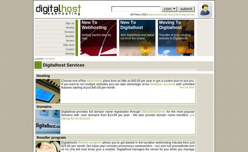 Digital Host Network