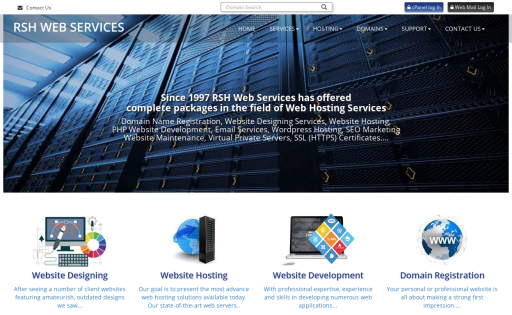 RSH Web Services