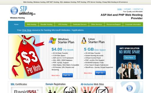 STP Web Hosting Services