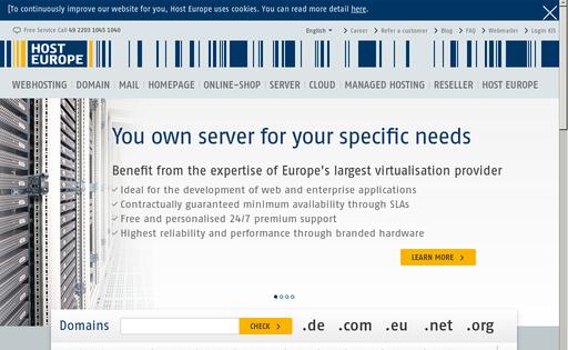 Host Europe PLC