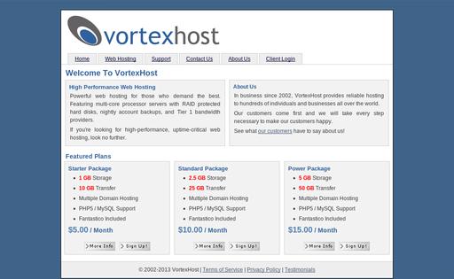 VortexHost.com