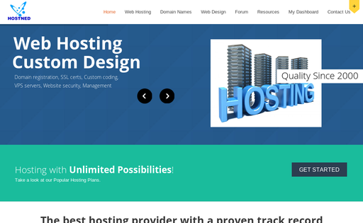HostNed Web Hosting