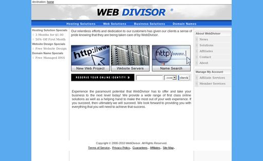 WebDivisor