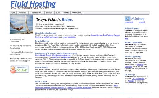 Fluid Hosting LLC
