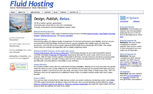 Fluid Hosting LLC