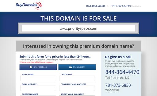Priorityspace.com