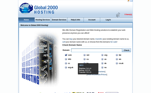 Global 2000 Hosting Inc.