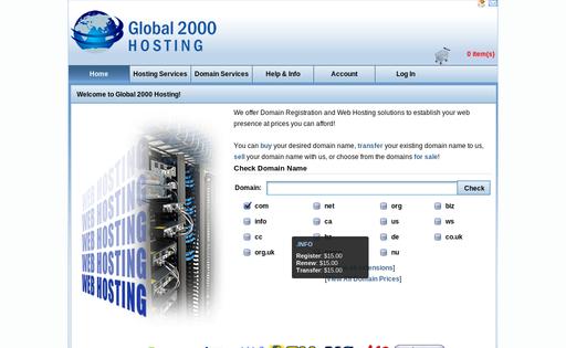 Global 2000 Hosting Inc.