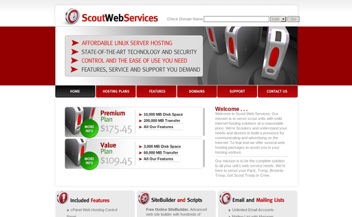 Scout Web Services
