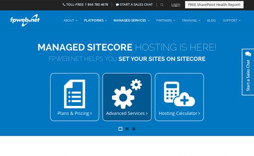 FrontPages Web Hosting Network