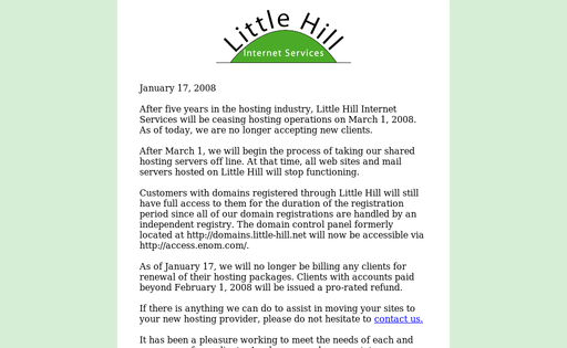 Little Hill Internet Services