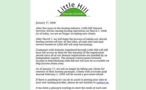 Little Hill Internet Services