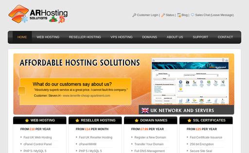 AR Hosting Solutions