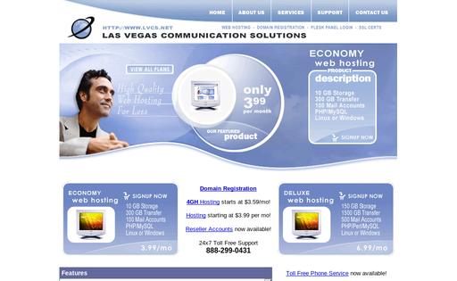 LVCS Web Hosting