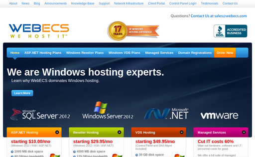 WebECS