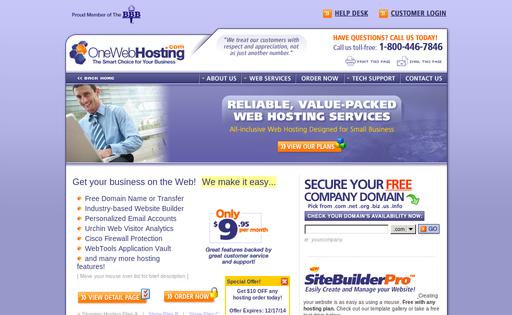#1 Web Hosting