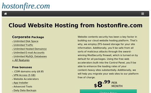 hostonfire.com
