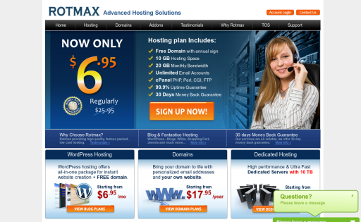 Rotmax - Advanced Hosting Solutions