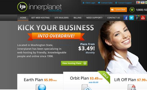 Innerplanet Web Hosting