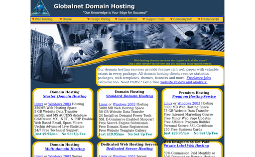 Globalnet Domain Hosting Service