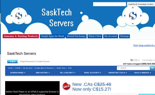 SaskTech Servers